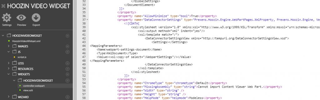 Widget Builder Coding