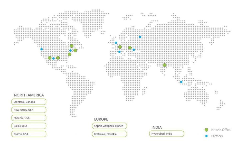 Hoozin map