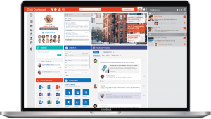 Office 365 Example on Laptop
